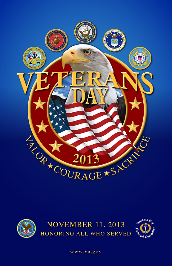 Veterans Day Poster 2012