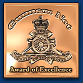 Gunners Net Award of Excellence